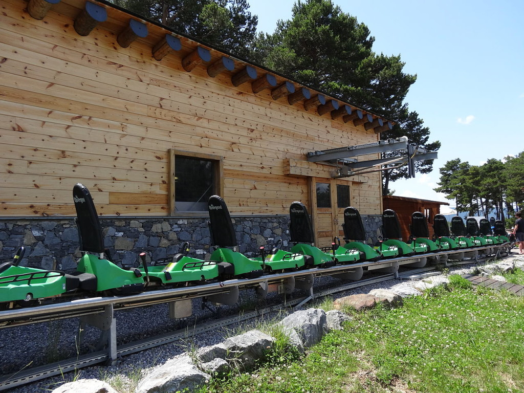 El Tobotronc es una de las atracciones más imresionantes del Naturlandia en Andorra