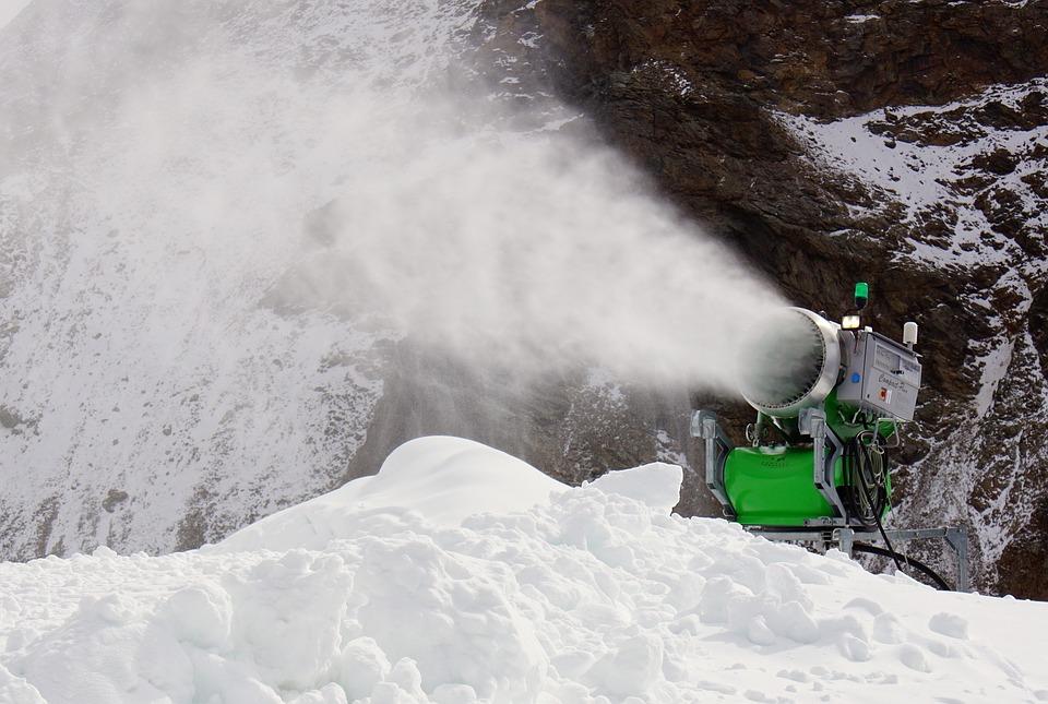 La nieve artificial ¿un buen sustitutivo para esquiar?
