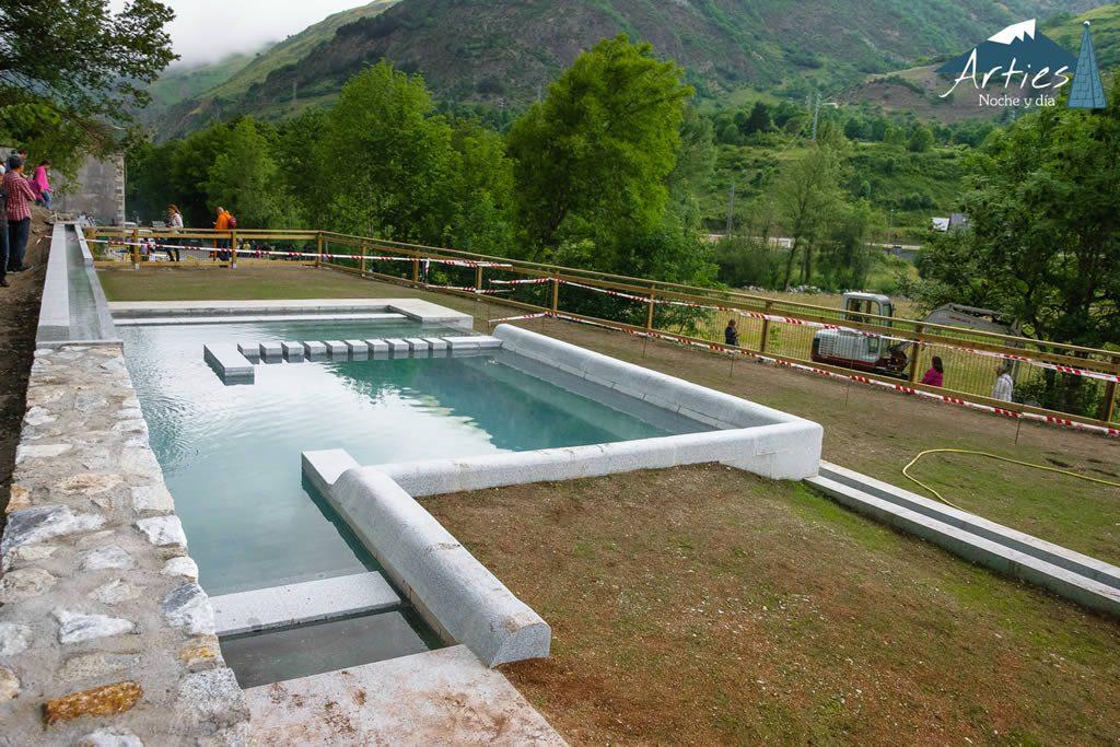Descubre las piscinas termales del Valle de Arán